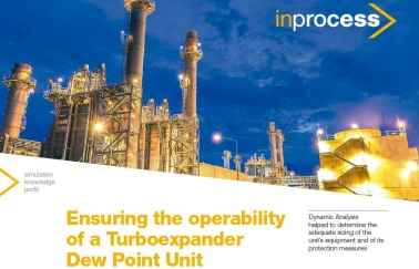 Ensuring the operability of a Turboexpander Dew Point Unit