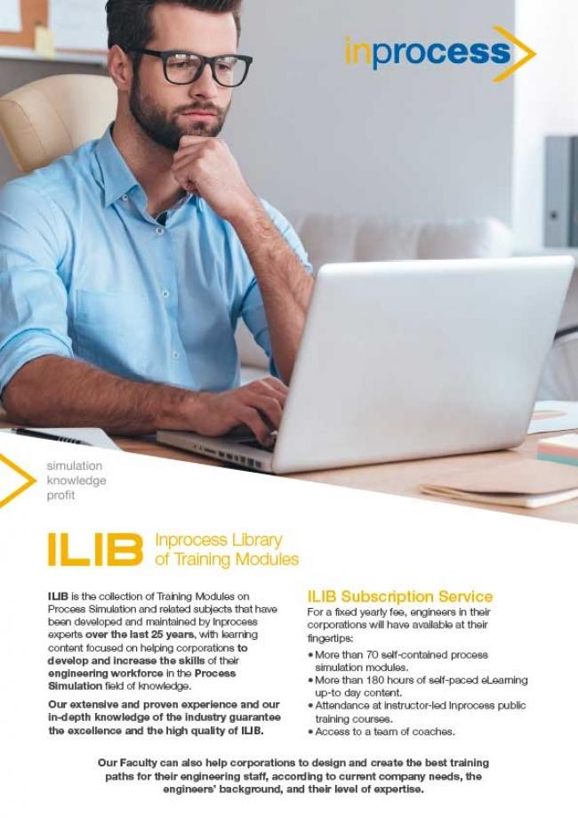 ILIB: Inprocess Library of Training Modules