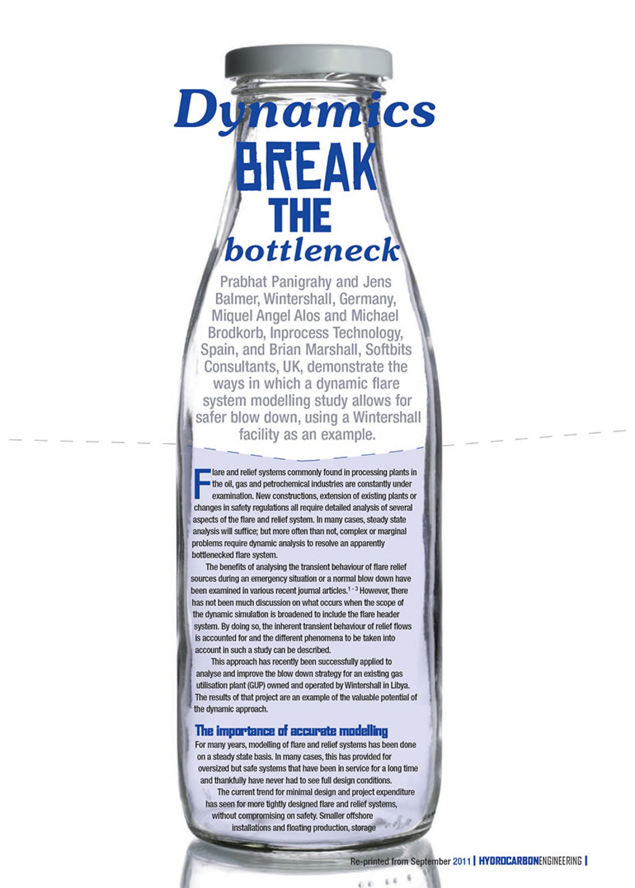 inprocess Dynamics break the bottleneck