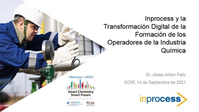 La Transformación Digital de la Formación de los Operadores de la Industria Química