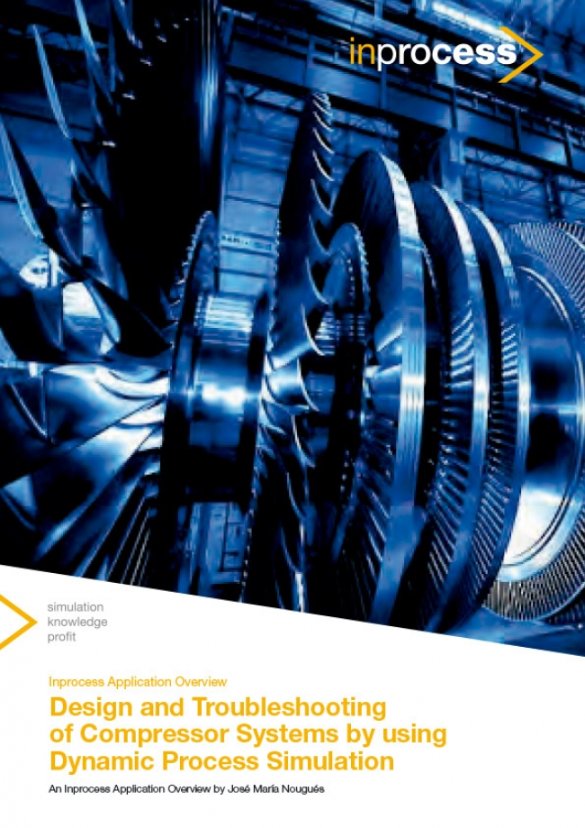 Design and Troubleshooting of Compressor Systems by using Dynamic Process Simulation